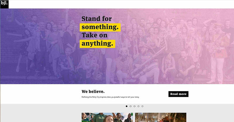BJL Marketing Agency Website