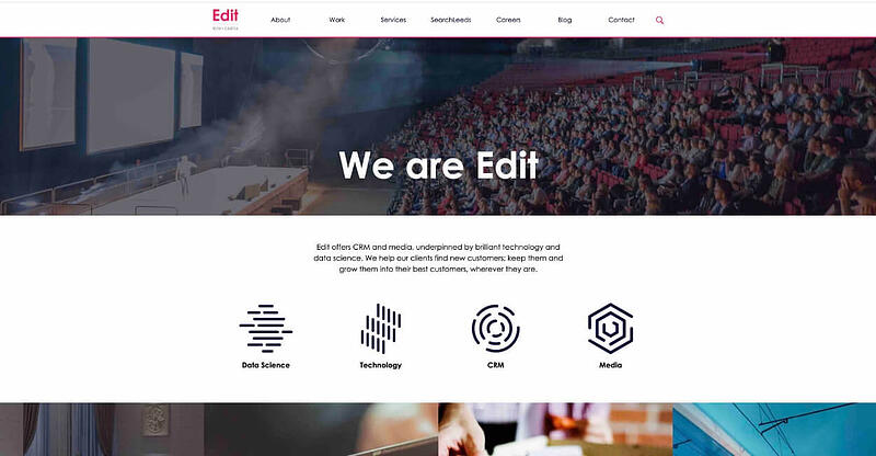 Edit Marketing Agency Website