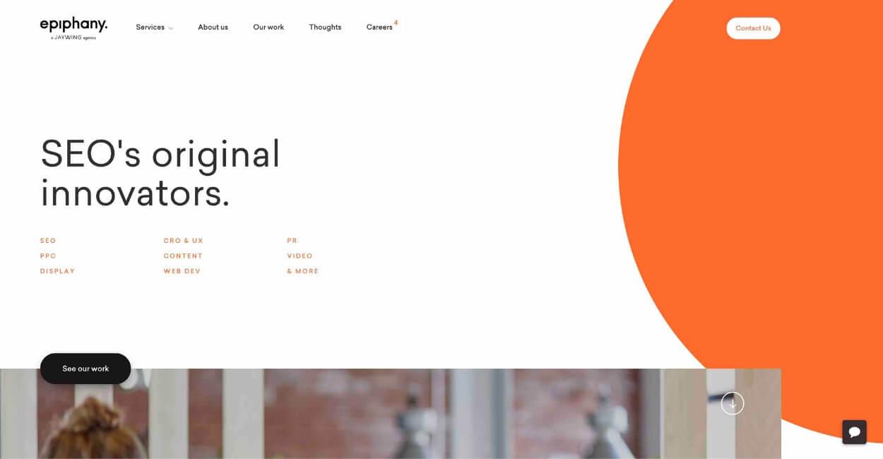 Epiphany Marketing Agency Website
