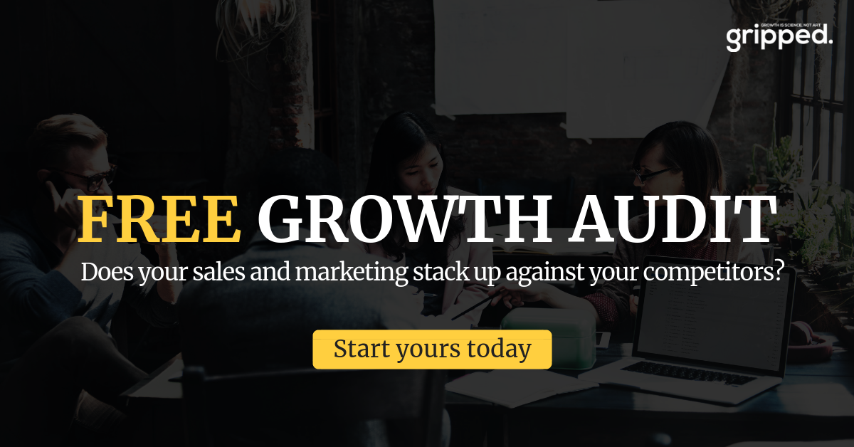 Gripped Free Sales and Marketing Audit