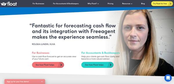float homepage