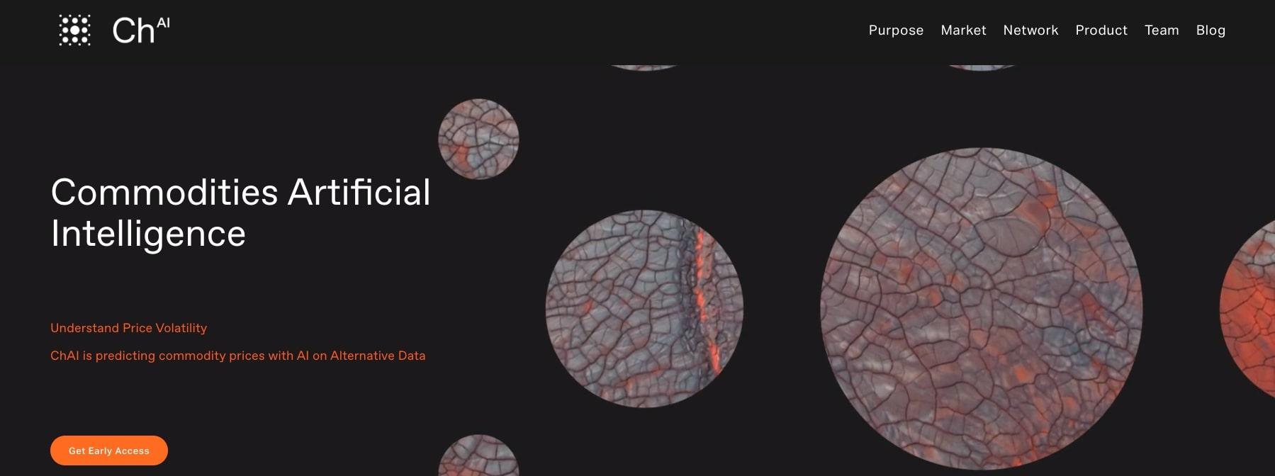 ChAI FinTech Website Homepage